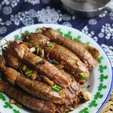沙茶风味虾菇