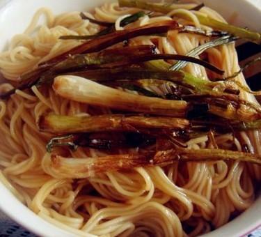 上海葱油拌面的做法