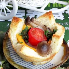 山羊奶酪土司塔的做法