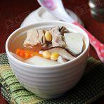 山药黄豆排骨汤