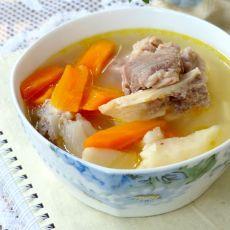山药胡萝卜筒骨汤
