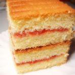 山楂酱夹心蛋糕