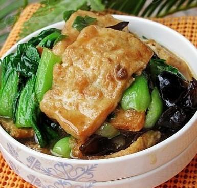 烧家常豆腐