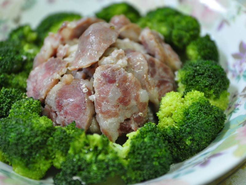 绍兴香肠扣肉