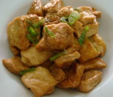 生抽豆腐的做法