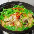 生啫鱼头煲的做法
