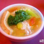 时蔬豆腐汤