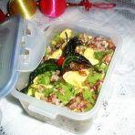 时蔬花色营养炒饭的做法