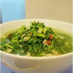 瘦肉豆苗汤