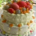 双层篮子奶油蛋糕的做法
