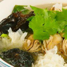 双耳牡蛎汤的做法