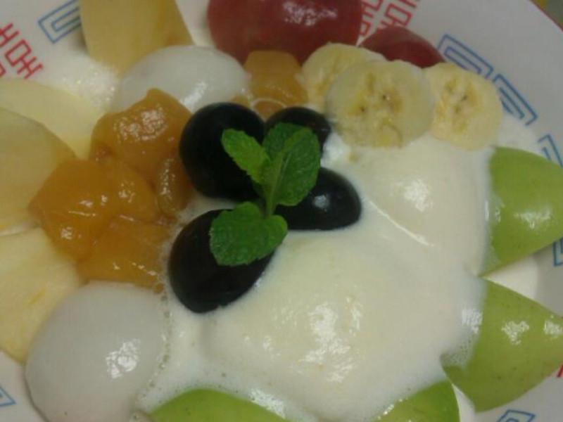 水果冰激凌汤圆