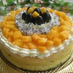 水果轻芝士蛋糕