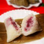 水晶紫薯糯米粽