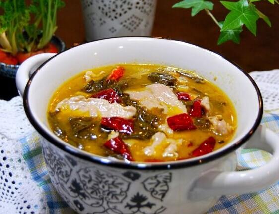 四川酸菜肉片