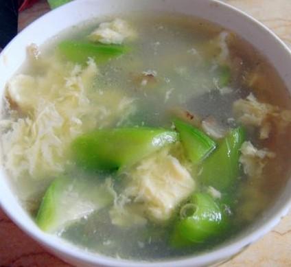 丝瓜榨菜蛋汤的做法