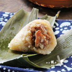 四角鲜肉粽子