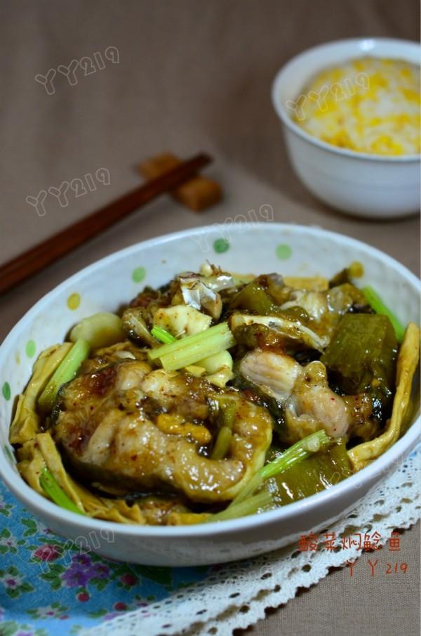 酸菜焖鲶鱼