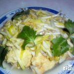 蒜黄炒蛋的做法