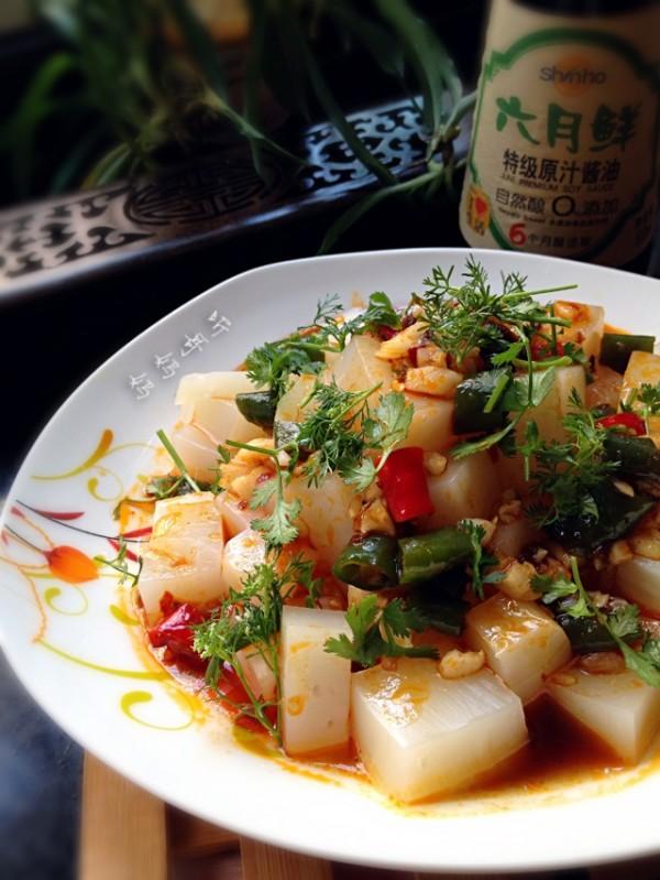 酸辣米豆腐