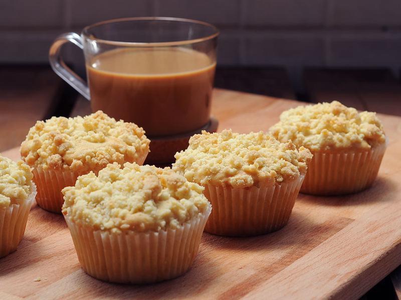 酸奶油咖啡玛芬的做法