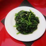 蒜蓉炒菠菜的做法