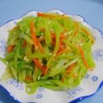 蒜茸莴笋丝的做法