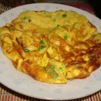蒜苔摊鸡蛋