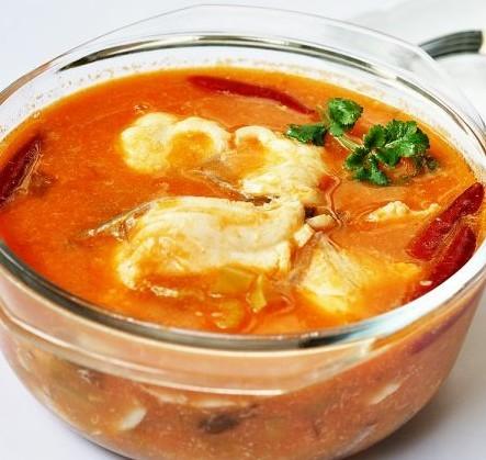 酸汤番茄鱼片
