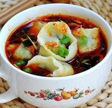 酸汤素水饺的做法