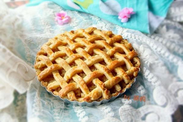 酸甜苹果派的做法