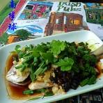 蒜头豆豉蒸海鱼