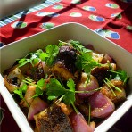蒜头豆豉焖海鳝的做法
