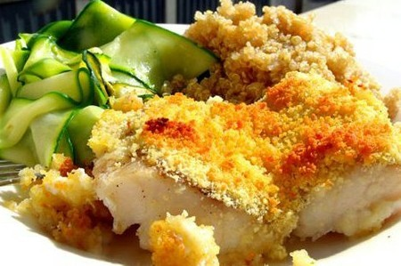 蒜味酥皮鱼的做法