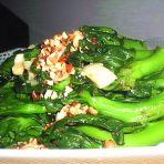 蒜香青菜柳