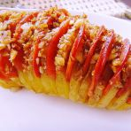蒜香土豆烤肠