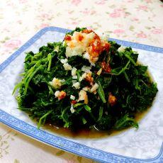 蒜香野芹菜的做法