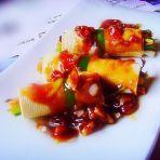 蒜香蚝油豆皮卷的做法