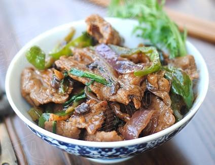 蒜香豉汁牛肉
