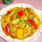 蒜子陈皮鸡