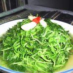 素炒萝卜菜的做法