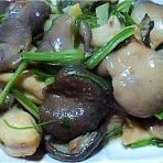 素炒荞头鲜菇