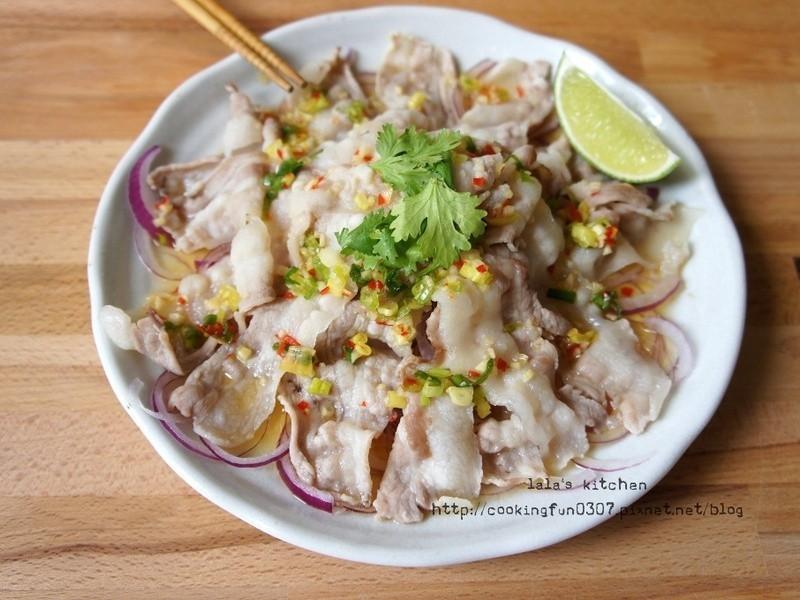 泰式涼拌五花肉