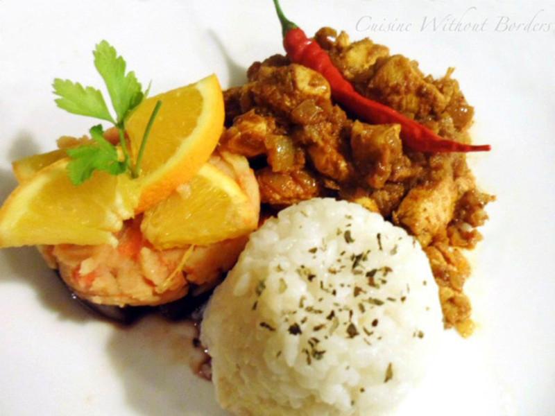 泰式咖哩鸡