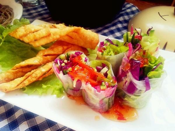 泰式蔬菜粉卷