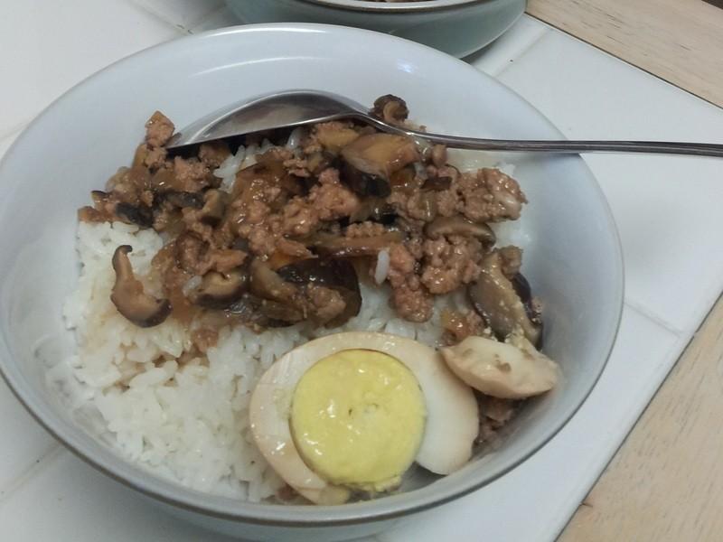台湾滷肉饭与滷蛋