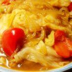 甜椒白菜炖粉条的做法