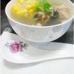 田螺肉玉米汤