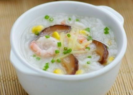 田园蔬菜海鲜粥