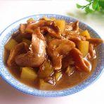 土豆高汤炖素鸡